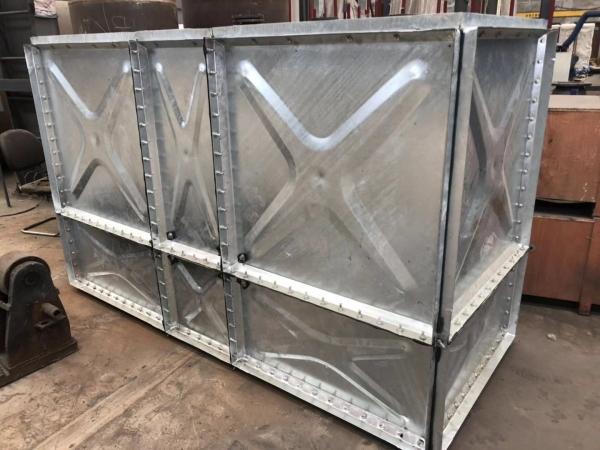 内蒙古组合式镀锌钢板水箱